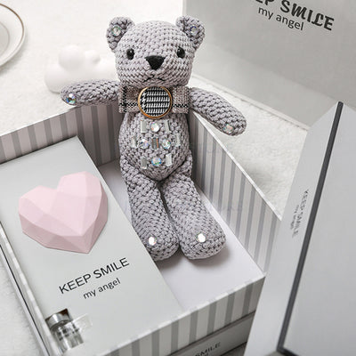 Bear rabbit doll small fresh creative practical gift box - Amazing Vanity Allure
