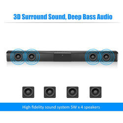 TV Speaker Wired and Wireless Bluetooth Home Surround Theater