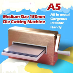 Metal Dies Cutting Stencil Embossing Machine