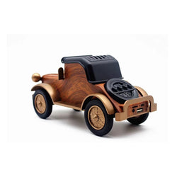 Retro Classic Car Bluetooth Speaker Wood Grain Wireless Subwoofer