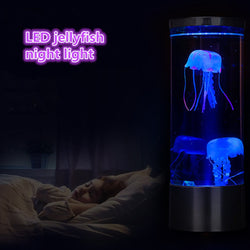 Jellyfish Lamp Fantasy Aquarium Hypnotic Color Changing USB Power