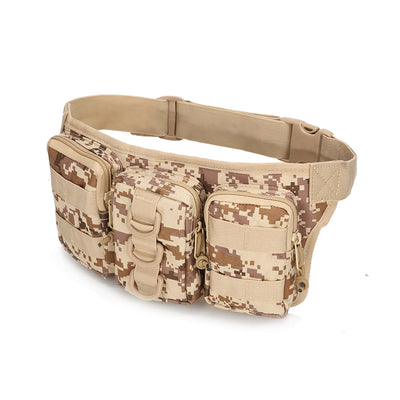 Military Commandos Waterproof Camouflage Waist Bag