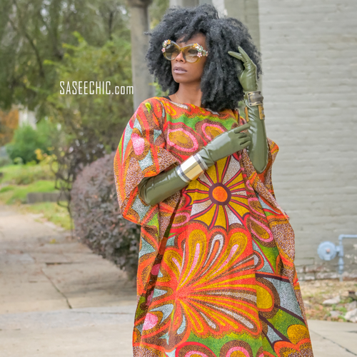 'Showstopper' Kaftan Dress