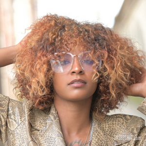 'Trinity' Beaded Necklace (Coral)