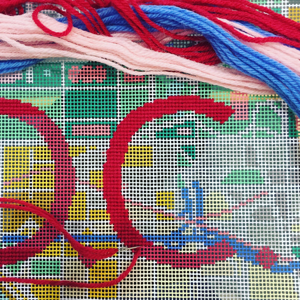 Washington D.C. City Map Needlepoint Kit
