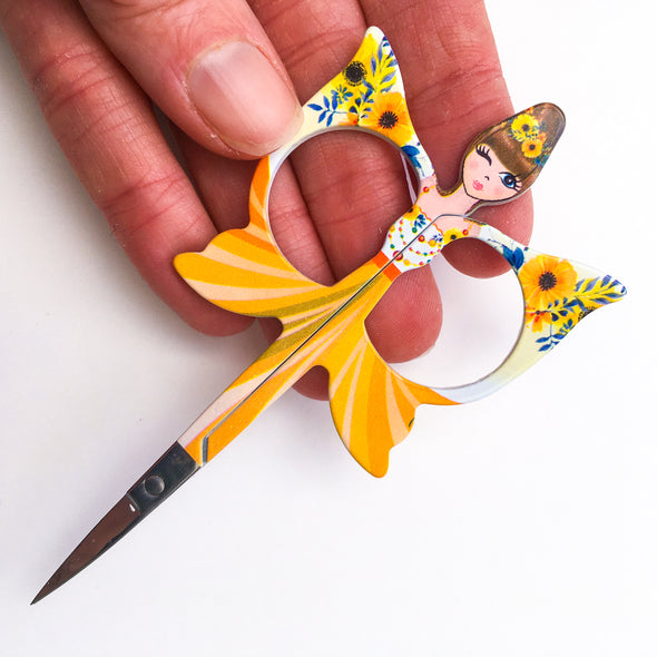 Yellow Fairy Embroidery Scissors
