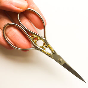 Italian inspired embroidery scissors - Hannah Bass