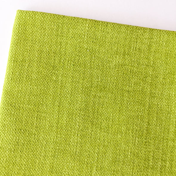 Dark Lime Green Linen
