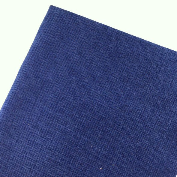 Navy Blue Linen - Hannah Bass