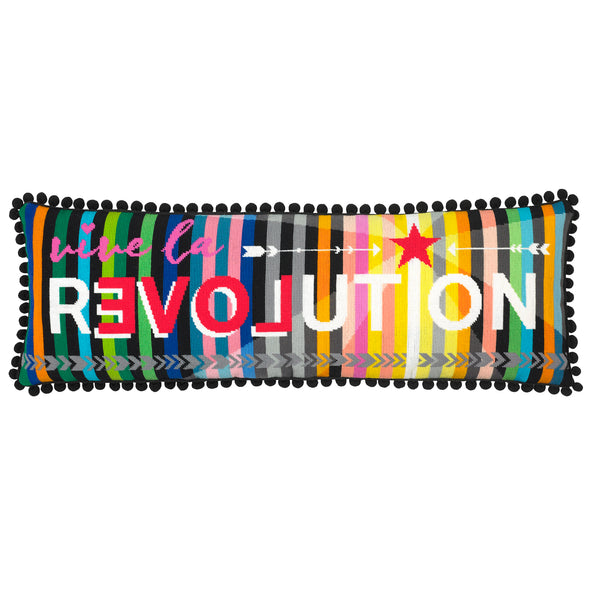 Vive La Revolution Needlepoint Kit - Hannah Bass