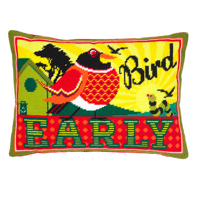 Early Bird Needlepoint Kit - Hannah Bass