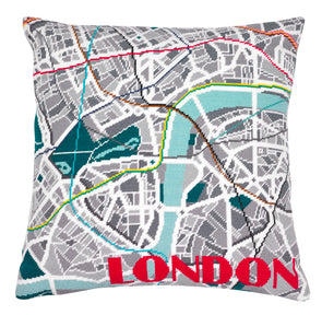 London Metro Needlepoint Kit - Hannah Bass