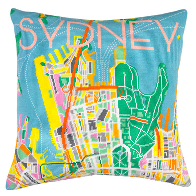 Sydney Day Needlepoint Kit - Hannah Bass