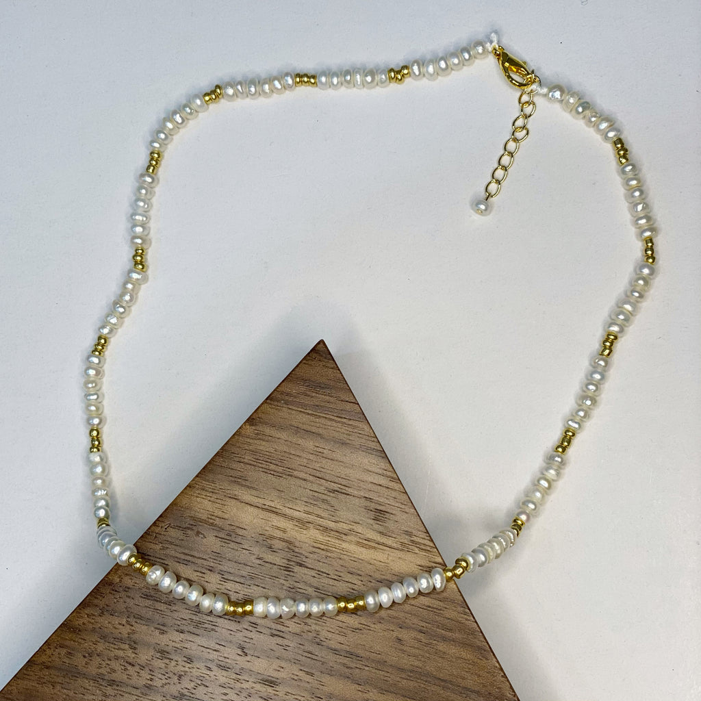 Pearl-a-round Necklace