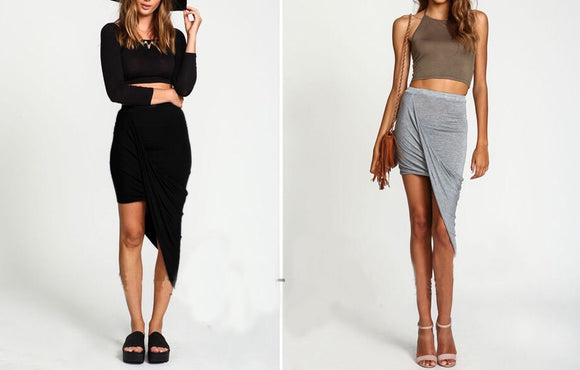Layne Asymmetrical Skirt