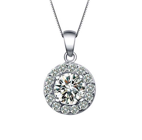 Austria Platinum Plated Necklace