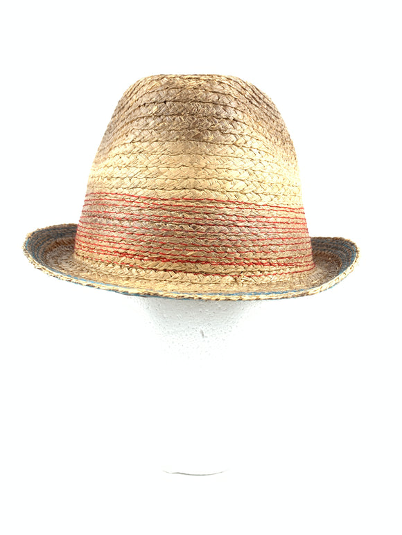 Peter Grimm True Character Ibiza Fedora Tea-Stained Hat Cap PTG