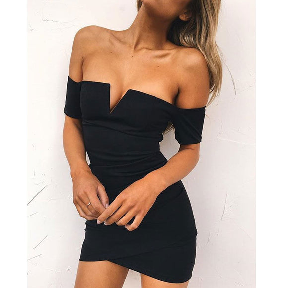 Ciara Off-shoulder Dress