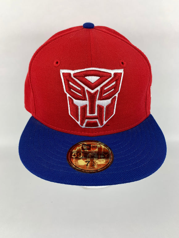 Autobot Comic NE New Era 2Tone Basic 5950 59Fifty Fitted