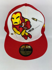 Tokidoki Ironman FB New Era 5950 Marvel RARE July 2010