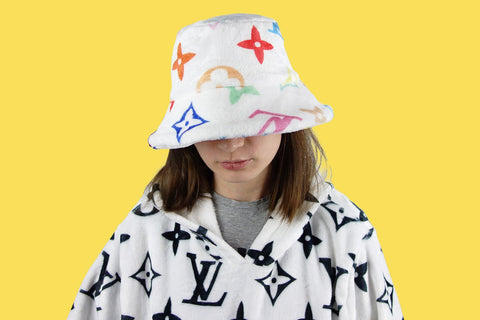 Louis Vuitton monogram multicolor cozy bucket hat billie eilish