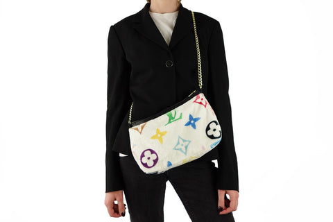 Cozy multi-color louis vuitton shoulder bag