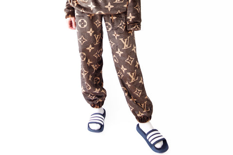 Dark brown louis vuitton pants