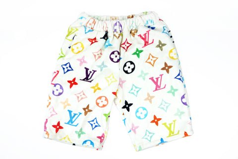 Louis Vuitton monogram multicolor cozy shorts
