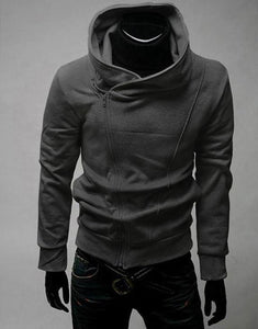 Zipper Turtleneck Sweatshirt