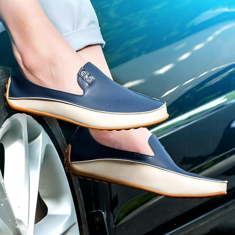 Casual Round Head Plain Hollow Flat Shoes