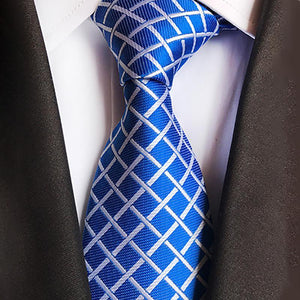 Fashion Plaid Printed Suit Ties