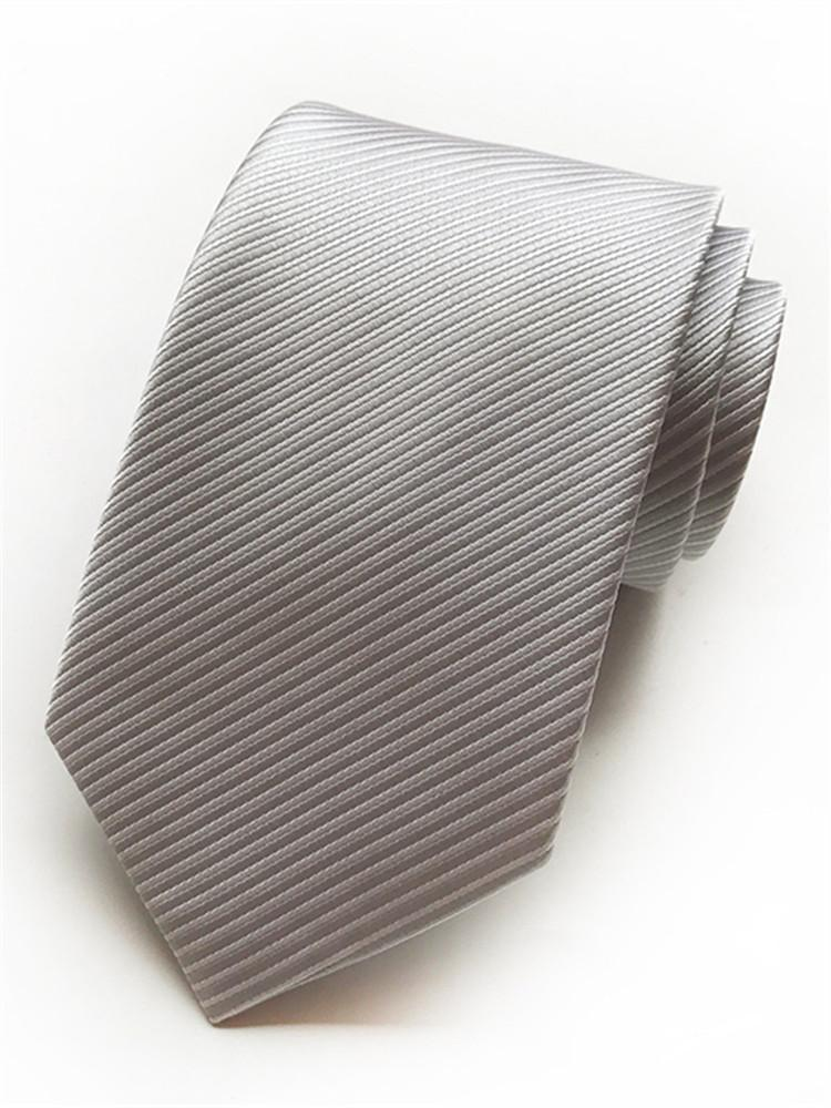Fashion Business Professional Men's Solid Color Ties