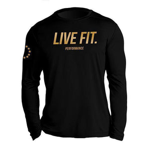 Men's Long-Sleeved Sports T-Shirts