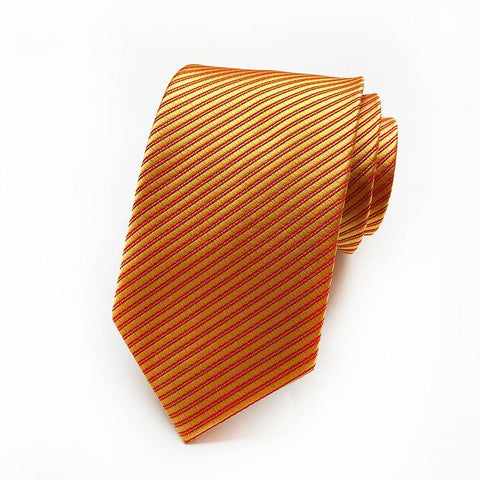 Fashion Solid Color High Density Silk Satin Ties