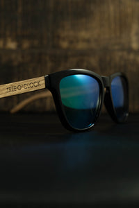 Tree O' Clock | Polarised wooden sunglasses |