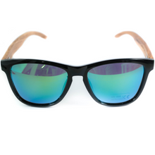 Load image into Gallery viewer, Tree O' Clock | Polarised wooden sunglasses |