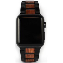 Load image into Gallery viewer, Wooden Apple Watch Strap | Redwood | 42/44mm