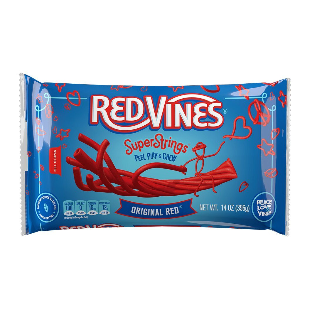 12/14oz. Red Vines Superstrings® Lay Down Bag