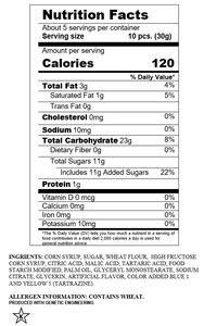 SOUR PUNCH® Bites®, Apple Flavored Bites, Hanging Bag, 12/5 oz