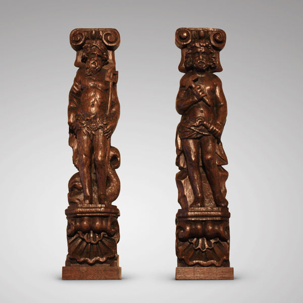 Pair of Caryatides