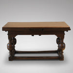 Dutch Draw Leaf Table