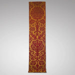 Red and gold Damask