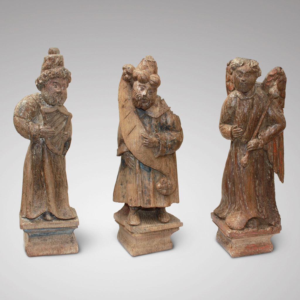 English carved figures