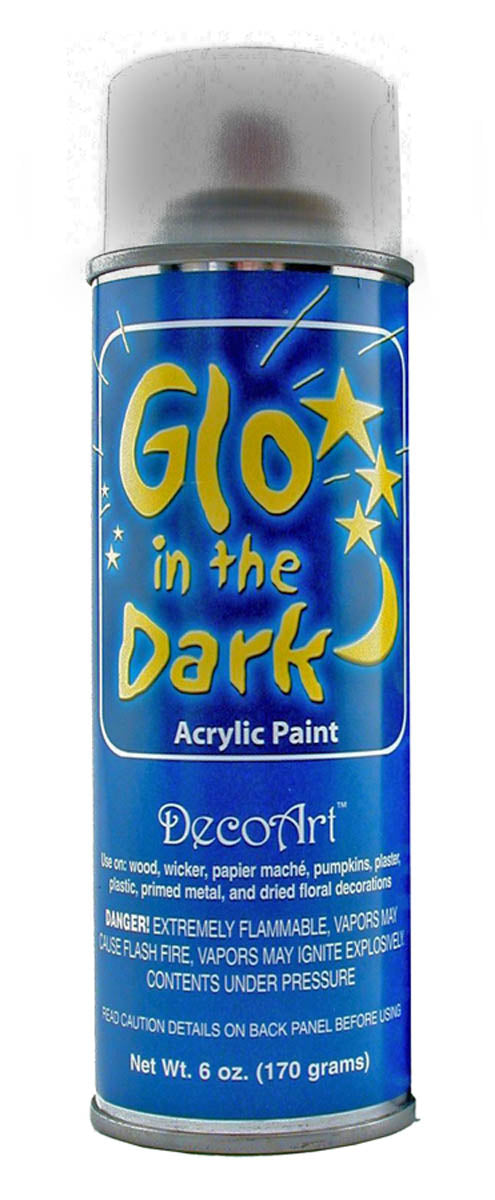 Glo in the Dark Spray Paint by DecoArt