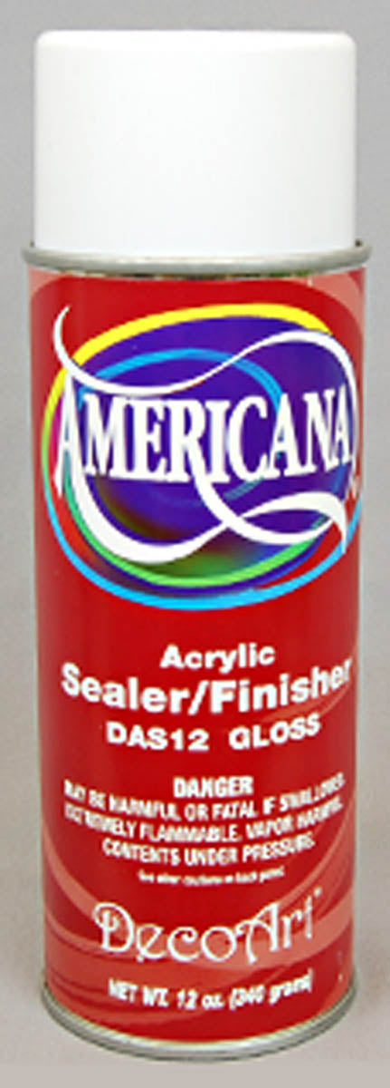 Sealer/Finish Spray, Gloss by DecoArt