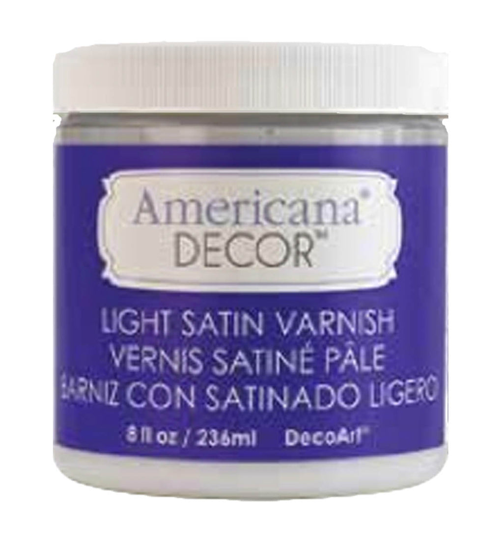 Decor Light Satin Varnish by DecoArt