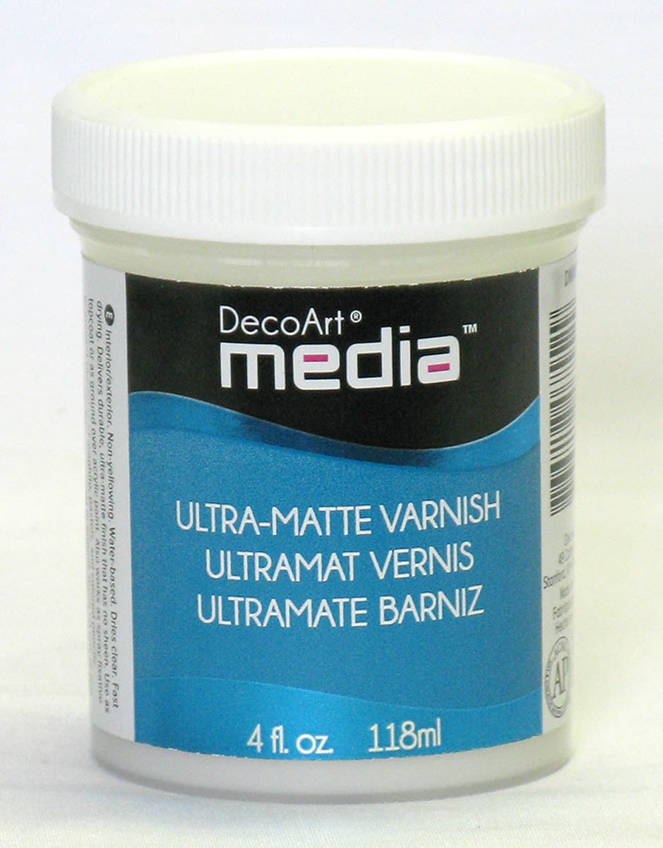 Media Ultra Matte Varnish by DecoArt