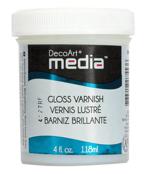 Media Gloss Varnish by DecoArt