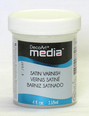 Media Satin Varnish by DecoArt