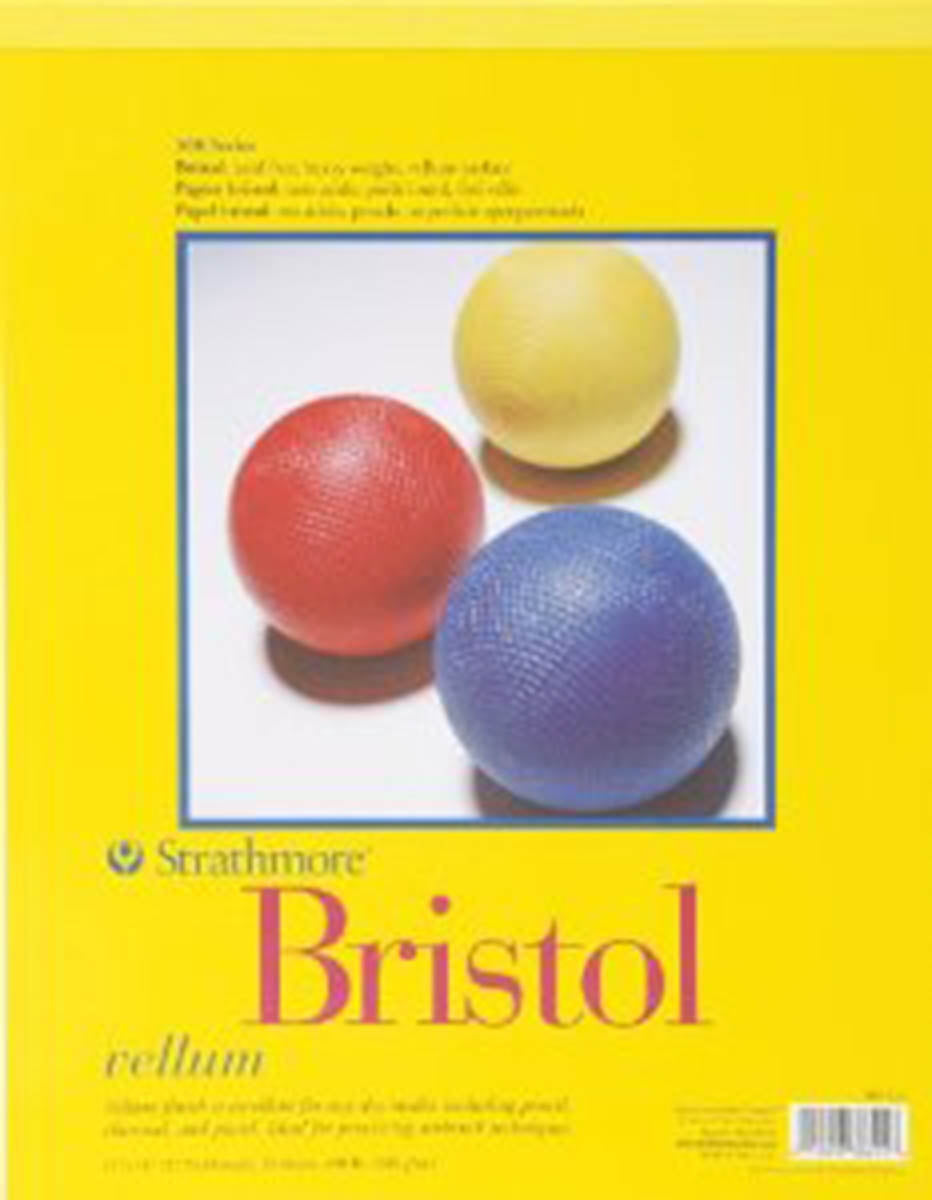 Vellum Bristol Paper Pad, 342 Series, 100 lb. by Strathmore